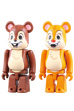 BE@RBRICK CHIP & DALE 2 PACK