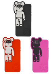 BE@RBRICK silicone case for iPhone 5