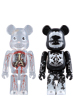 DR.ROMANELLI & BUTCHER BLOCK BE@RBRICK 2PCS SET