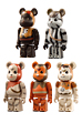 EWOK(TM) BE@RBRICK 5PC SET
