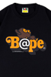 BE@RTEE BAPE(R)-BE@R ON BAPE(R) (BLACK)