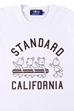 BE@RTEE STANDARD CALIFORNIA (WHITE)