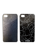 BE@RBRICK back cover for iPhone 4 (BLACK X BLACK CHROME) / (WHITE X BLACK CHROME)