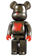 BE@RBRICK FULL METALLIC JACKET  400%