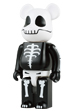 "400% BE@RBRICK HORROR ""SKULL"""