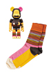 BE@RBRICK Happy Socks