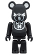 BE@RBRICK HYSTERIC BEAR BLACK