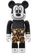 BE@RBRICK MICKEY MOUSE(PUNK LEOPARD ver.)