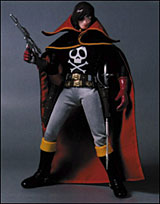 SPACE PIRATE CpT HARLOCK - Captain Harlock (Albator) - (RAH 005 ) Mini_r_4_00073