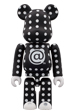 BE@RBRICK POLKA DOT 100%