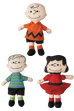 2Dプラッシュクッション PEANUTS(LINUS / CHARLIE BROWN / LUCY)