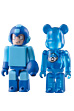ROCKMAN KUBRICK & 1UP BE@RBRICK SET