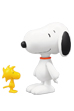 UDF PEANUTS シリーズ1 SNOOPY & WOODSTOCK