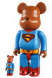 BE@RBRICK SUPERMAN RETURNS 100% & 400% SET