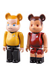 BE@RBRICK JAMES T. KIRK & UHURA 2PACK SET