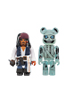 KUBRICK Jack Sparrow & BE@RBRICK Barbossa(The Curse of the Black Pearl)